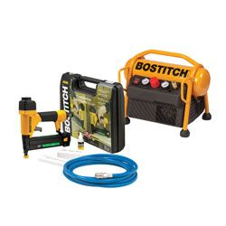 BOSTITCH MRC6/2IN1-U PNEUMATIC NAILER/STAPLER & COMPRESSOR COMBO KIT (15-40MM)